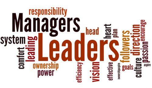 Leadership wordcloud